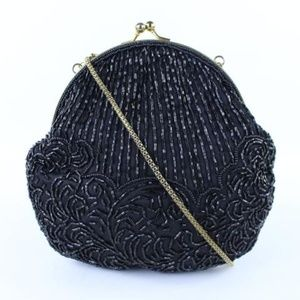 Sequin Kisslock Chain Bag 17mj0120